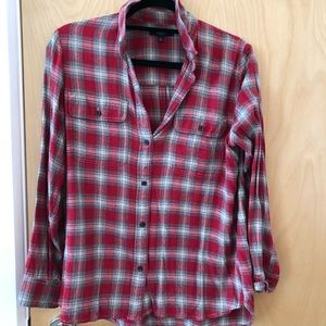 Madewell Flannel Plaid Shirt
